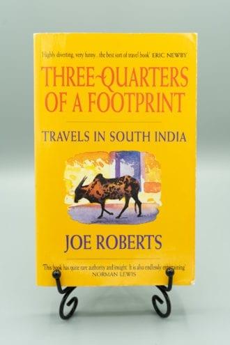 Three quarters of a footprint