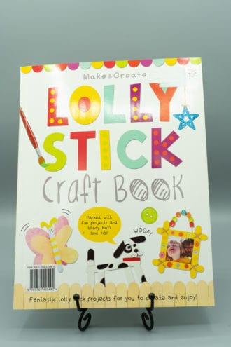 Lolly Stick Craft Book